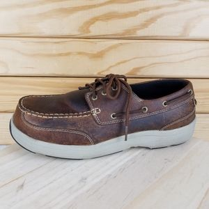 Hush Puppies Composite Toe Work Safety Boat Shoes